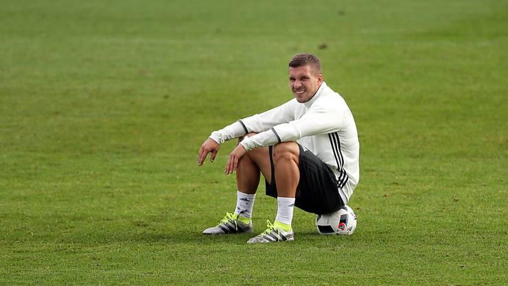 Lukas Podolski stand zuletzt für Deutschland bei der EM im Einsatz