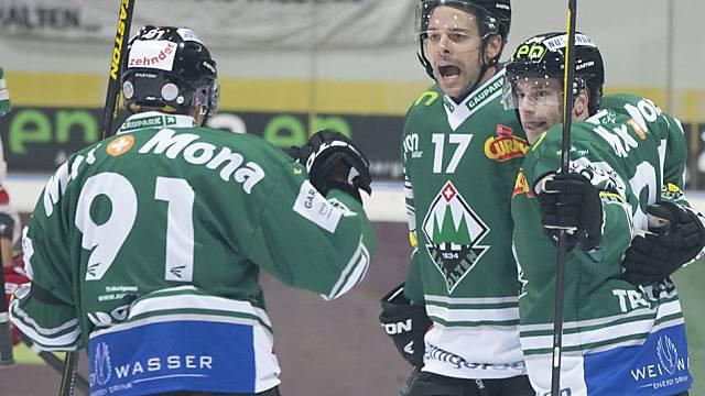 Im Bild: Romano Pargätzi, Sandro Tschuor, Marco Truttmann