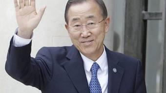 UNO-Generalsekretär Ban Ki Moon bedauert die Eskalation des Streits zwischen der Türkei und Israel