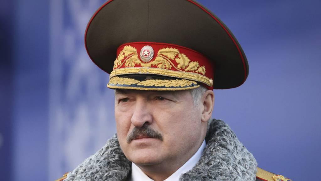 Der belarussiche Präsident Alexander Lukaschenko ist seit 1994 im Amt. Foto: Maxim Guchek/POOL BelTa/AP/dpa
