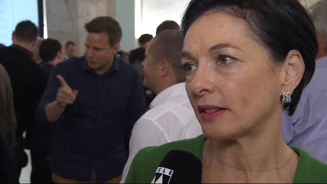 Marianne Binder, Präsidentin CVP Aargau: «Ich bin extrem nervös»