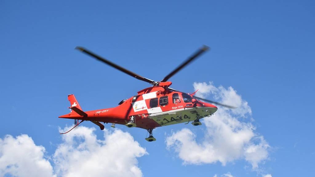 Die Turbulenzen wurden durch einen Rega-Helikopter ausgelöst. (Themenbild)
