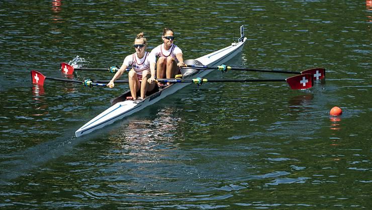 Grosse Enttäuschung für Frédérique Rol (vorne) und Patricia Merz an den Weltmeisterschaften in Linz