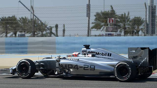 Tagesbestzeit für den Dänen Kevin Magnussen im McLaren
