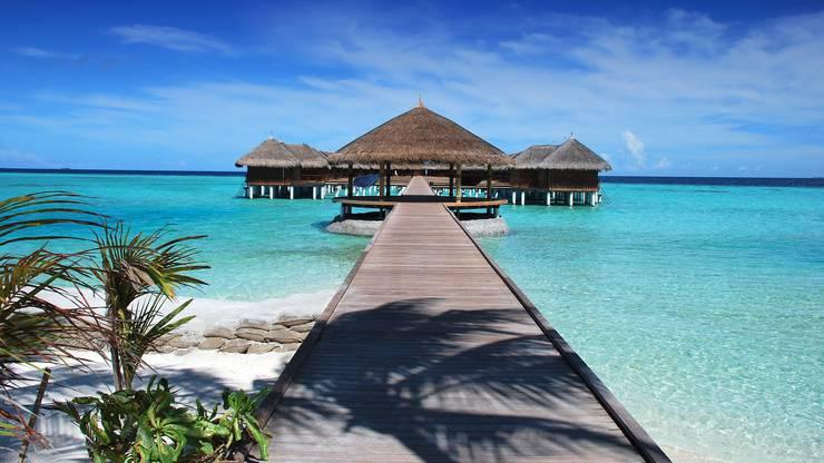 Weiter weg? Dann könnten es die Inseln im Indischen Ozean sein, beispielsweise die Malediven.