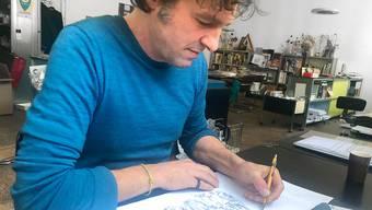 Die Sujets hat Illustrator Julien Gründisch gezeichnet.