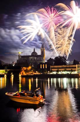 Das grosse Feuerwerk in Solothurn und in anderen Gemeinden wird es dieses Jahr nicht geben.