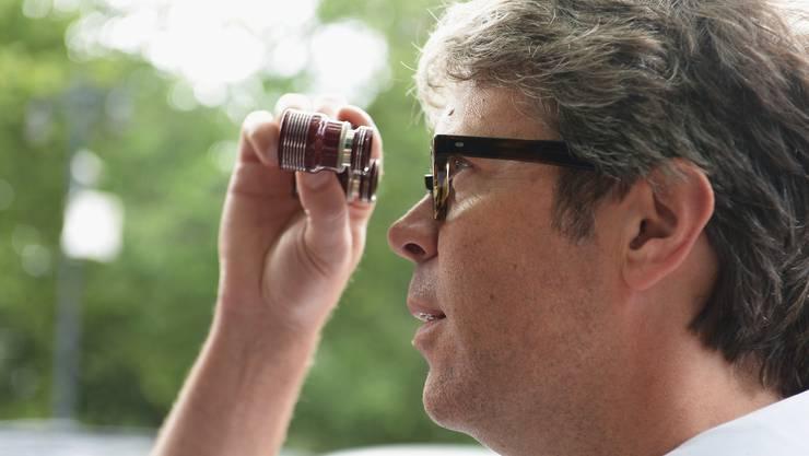 Der Schriftsteller Jonathan Franzen im Juni 2012 in New York. (Getty Images)