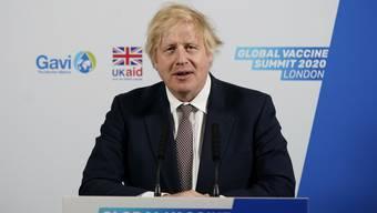 Erlässt neue Coronaregeln für Einreisende: Grossbritanniens Premier Boris Johnson.