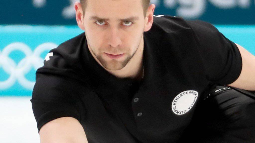 Statt dem Gewinn von Olympia-Bronze droht dem russischen Mixed-Curler Alexander Kruschelnizki nun eine Dopingsperre