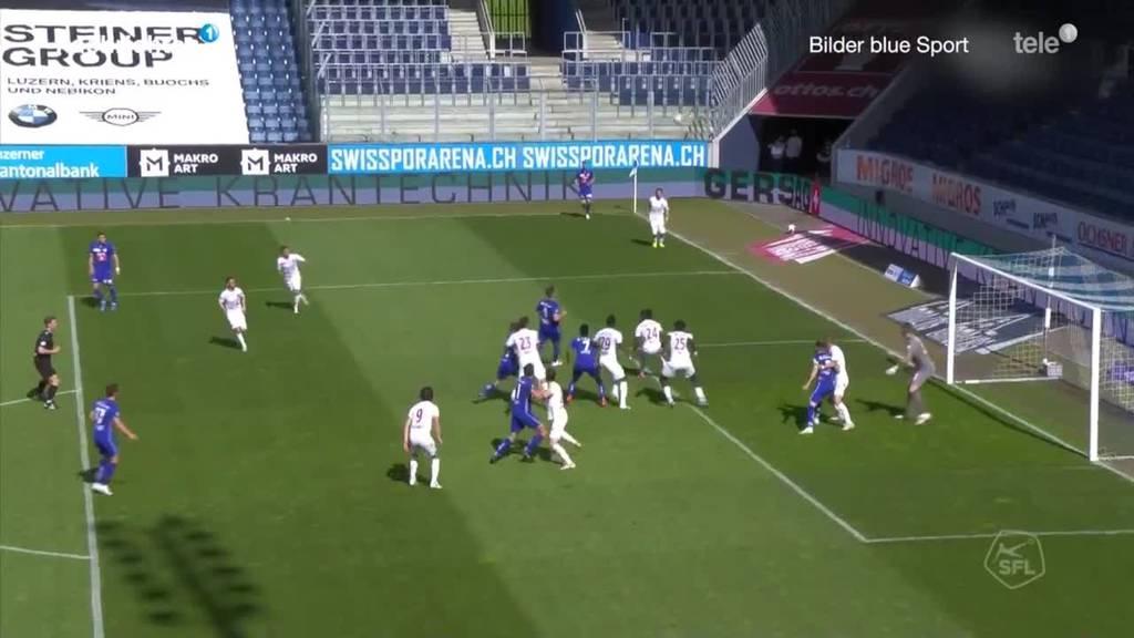 Zusammenfassung FC Luzern gegen Servette