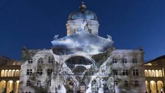 """Das Lichtspektakel """"Rendez-vous Bundesplatz"""" war ein Erfolg"""