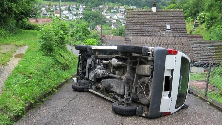 Die Autofahrerin wurde beim Unfall schwer verletzt