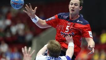 Der Norweger Sander Sagosen war mit 65 Treffern der beste Torschütze der EM