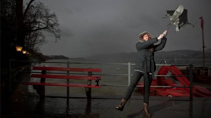 Das Sturmtief «Andrea» wird im Baselbiet erst am Nachmittag erwartet.