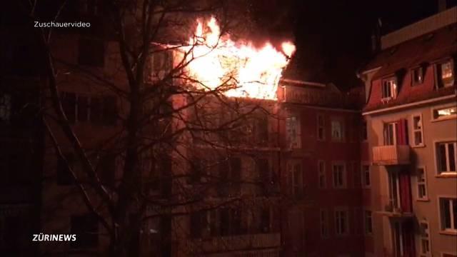 Brand in Kreis 4 fordert 1 Opfer