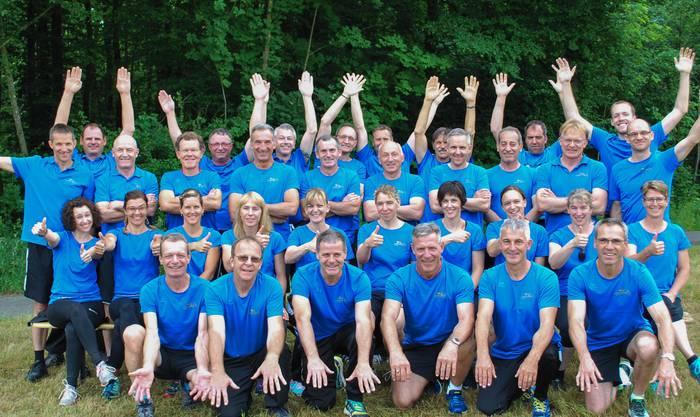 34 Wölflinswiler starteten in der 1. Stärkeklasse in der Kategorie Frauen/Männer