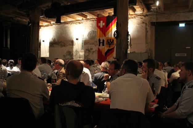154. Rechnungsablage des Rettungskorps Brugg mit Ripplifrass, Beförderungen und Verabschiedungen im Salzhaus Brugg.