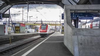SBB-Zug bei der Ankunft im Zürcher Hauptbahnhof (Symbolbild)