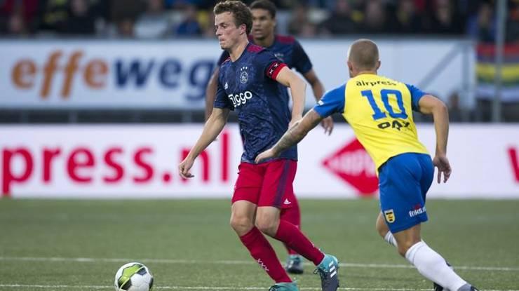 Leon Bergsma führte in der Saison 2017/18 die Ajax-Reserve zum Meistertitel in der zweithöchsten holländischen Liga.