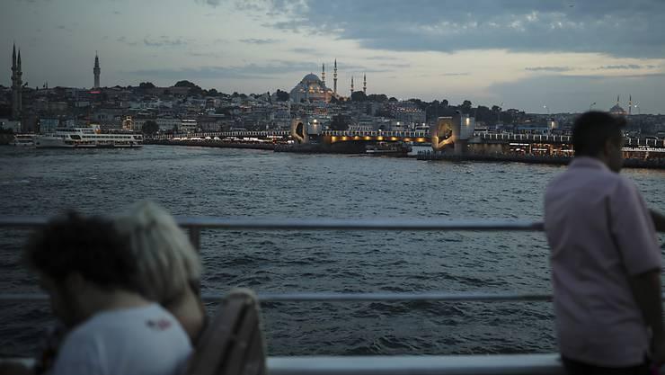 Mit der türkischen Wirtschaft geht es wieder nach oben: Der Bosporus (Archivbild).