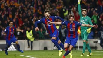 Der FC Barcelona ist die erste Mannschaft in der Champions League, die eine 0:4-Niederlage aus dem Hinspiel wettmachen konnte.
