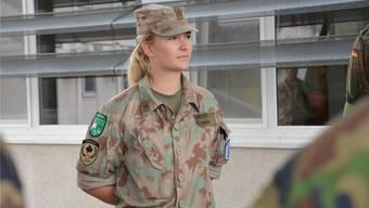 Eleonora Berisha verbrachte als Swisscoy-Soldatin sechs Monate im Kosovo: «Manchmal vermisse ich die Uniform.» zvg