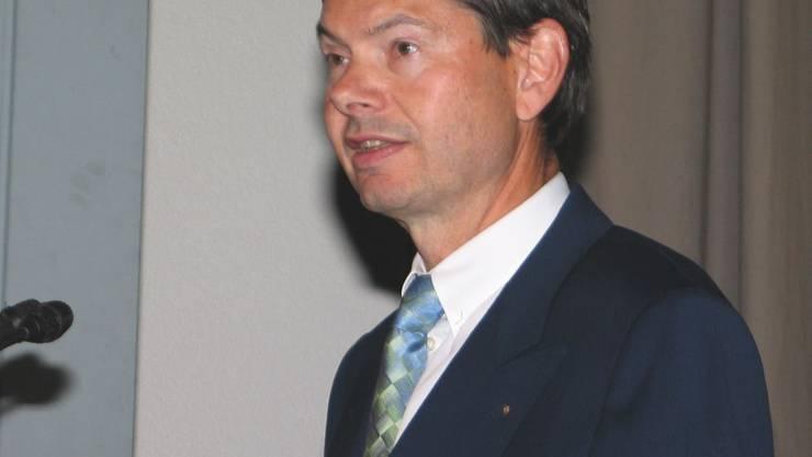 CEO und Verwaltungsratspräsident Hanspeter Zehnder. (Bild: zvg)