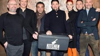 """Meta Hiltebrand im Kreise ihrer """"Kitchen Impossible""""-Kollegen (Archiv)"""