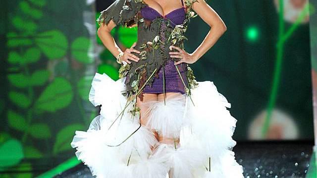 Heidi Klum hat ihre Top-Masse noch nicht erreicht (Archiv)