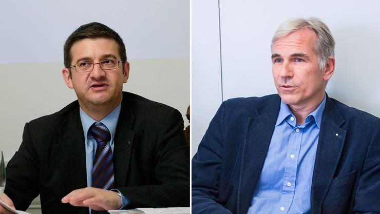 Patrick Hafner (links) und Lorenz Nägelin