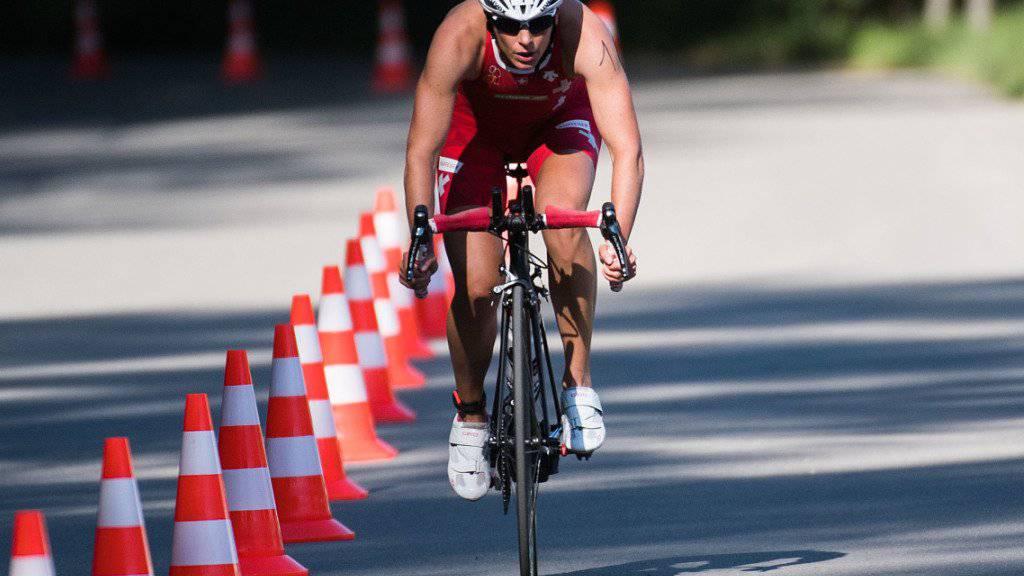 Nicola Spirig verkraftete ihre zweite Schwangerschaft mit Sport im gedrosselten Ausdauer-Bereich besser.