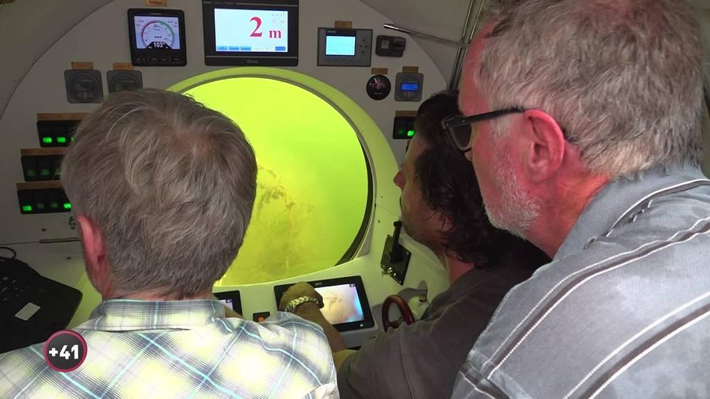 Versuch im Bodensee: Die Tücken auf dem Weg zur U-Boot-Safari