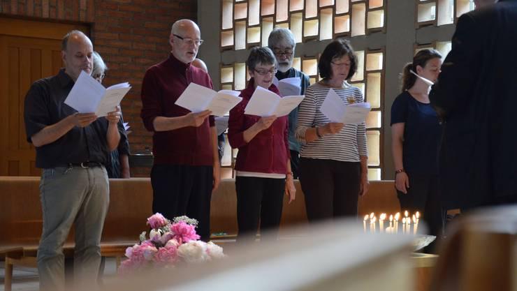 Um 7 Uhr morgens beginnt die Laudes, ein benediktinisches Tagzeitengebet, im Stadtkloster im Zürcher Kreis 4.