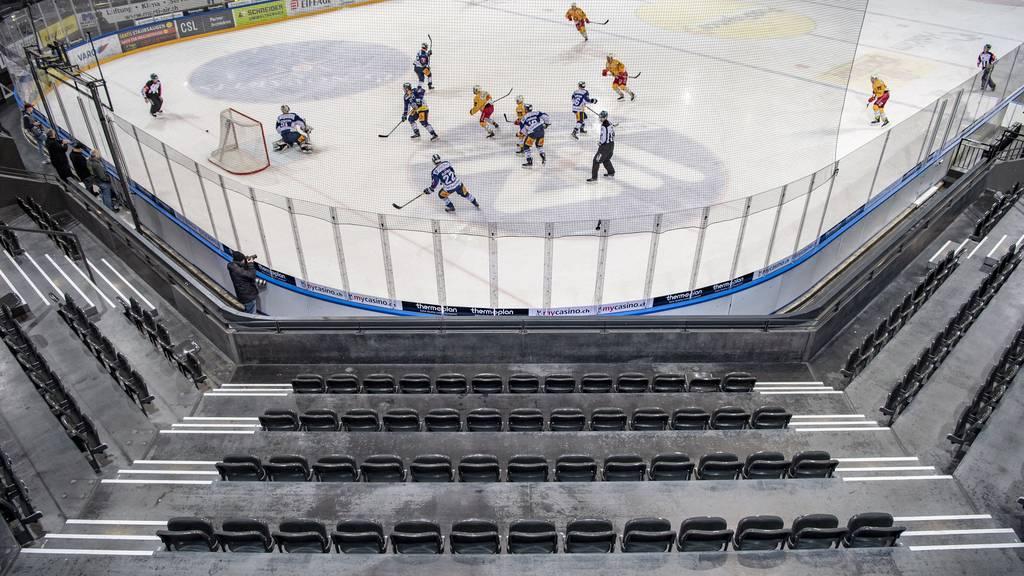 Spielabbruch bei Swiss-League-Spiel nach einem Drittel