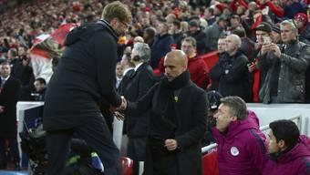 Startrainer unter sich: Pep Guardiola gratuliert Jürgen Klopp