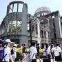 Tausende haben am Dienstag in der japanischen Stadt Hiroshima dem Atombombenabwurf vor 74 Jahren gedacht.