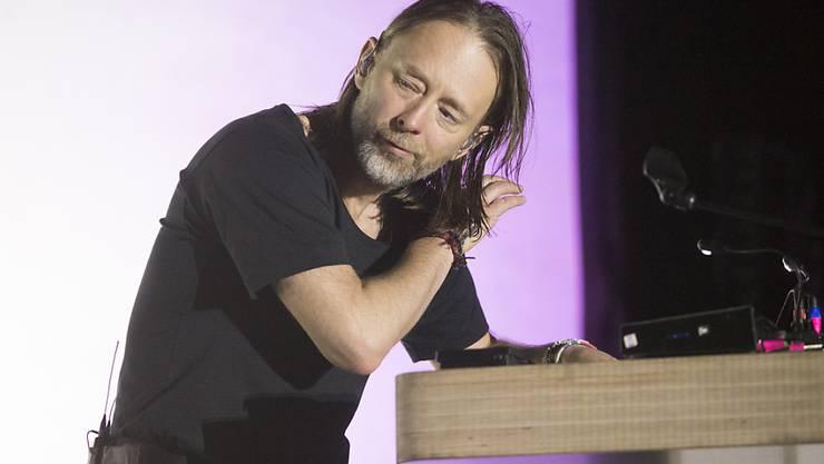 Lehnt Auszeichnungen ab - nur einen Oscar würde er dankend entgegennehmen: Radiohead-Frontmann Thom Yorke . (Archivbild)