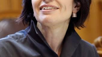 Reist durchs ganze Land: Für Volkswirtschaftsministerin Doris Leuthard ist die Abstimmung über die Revision der Arbeitslosenversicherung (ALV) wichtig.