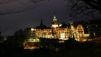 Hier, im Dolder Grand Hotel in Zürich, stirbt «Kathleen» in Zimmer 3307 auf grausamste Weise.