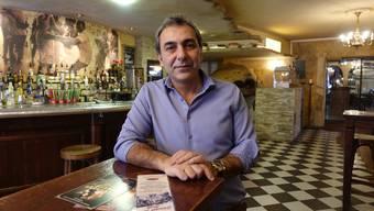 Mehmet Polat bleibt eventuell länger Wirt im Baracoa, als er möchte.