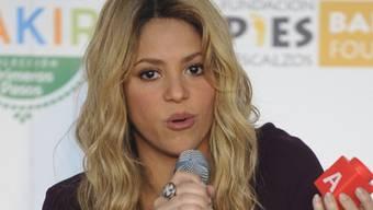 Shakira am Montag bei der Lancierung einer Spielzeug-Kollektion