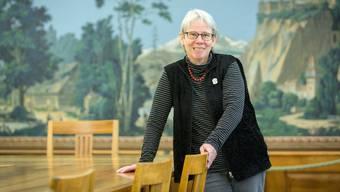 Im Rixheimer Zimmer hat Stadträtin Heidi Berner während ihrer Amtszeit rund 4000 Stunden verbracht.