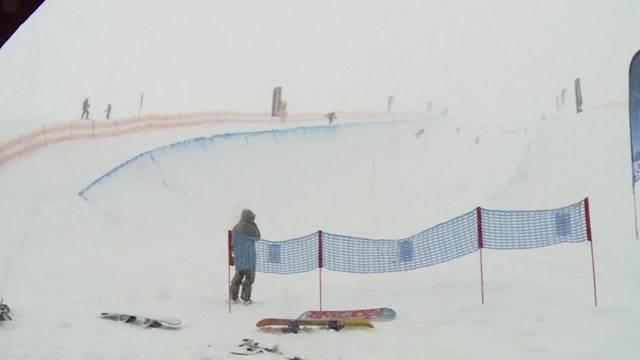Snowboard-Mekka im Berner Oberland