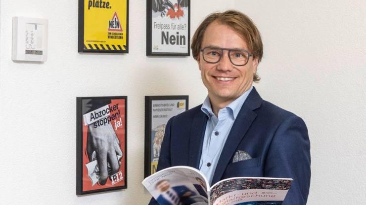 Lukas Golder, Co-Leiter von GfS Bern, hat die CVP-Umfrage betreut.
