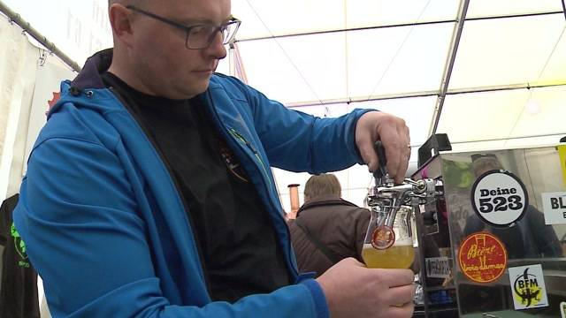 Premiere für Hersiwiler Bier