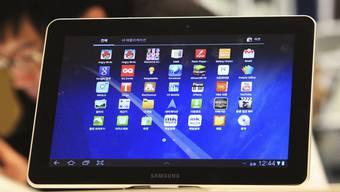 Dem iPad zu ähnlich? Das Galaxy 10.1-Tablet von Samsung (Archiv)