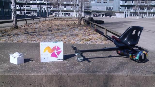 Technical Gadgets: Vom Ego-Kameramann und Go-Kart-Macher