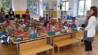 1.Schultag in Balsthal und Kestenholz