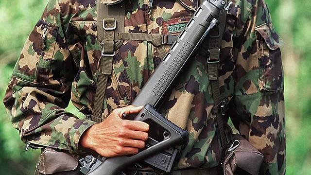 Soldat der Schweizer Armee (Archiv)